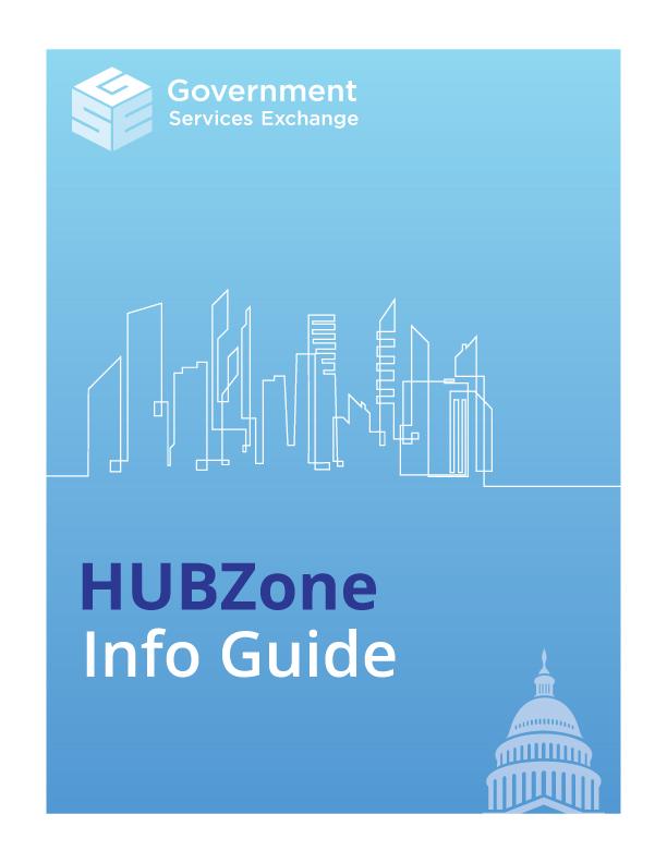 HUBZone certification info guide