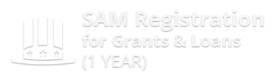 SAM Registration for grants loans