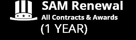SAM renewal